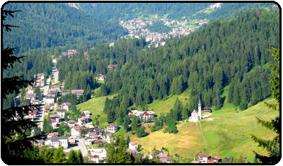 Falcade Dolomiti Veneto Localita Per Il Turismo
